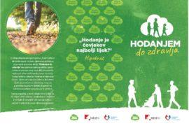 Zdravlje i tjelesna aktivnost - Hodanjem do zdravlja
