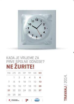 Edukativni kalendar-spolno zdravlje 2014.