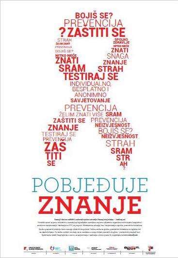 Plakat- Svjetski dan AIDS-a 2013